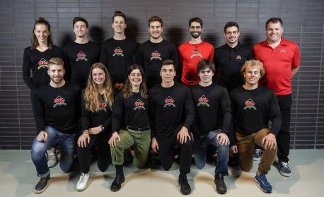 Equipe Rouge et Or Ski de Fond - credit Mathieu Belanger